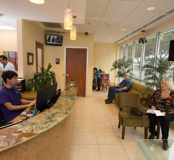 Waiting Area At Bellaire ER